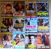 Filmzeitschrift CINEMA ca 200 Hefte