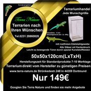Dendrobaten-Terrarium 50x50x60cm LxTxH Froschterrarium
