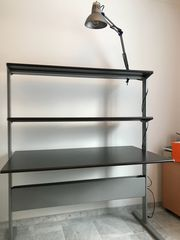 Schreibtisch mit Höhenanpassung