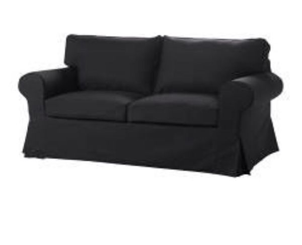 Ikea Ektorp 2 Er Sofa Bezug Idemo Black Erst 2 Monate Alt In