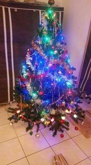 Reserviert! Weihnachtsbaum künstlich