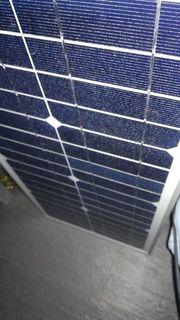 Solaranlage mit Laderegler und Kabelsatz