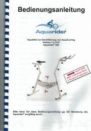 Aquarider zu verkaufen