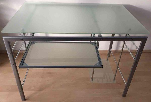 schreibtisch glas ankauf und verkauf anzeigen billiger preis. Black Bedroom Furniture Sets. Home Design Ideas