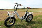 myvelo Klapprad E-Bike Elektrobike Faltrad