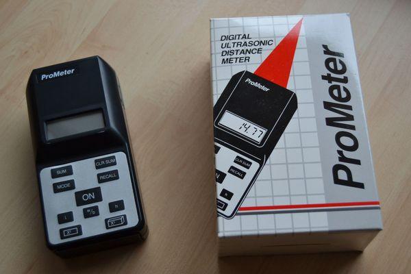 Entfernungsmesser Ultraschall : Verkaufe prometer ultraschall entfernungsmesser sm 5000 in eckental