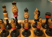 Schachspiel Russland Matroschka