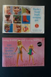 Barbie Doll Vintage Kleidung - Booklet