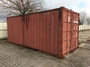 Container Lagercontainer Seecontainer 20 Fuß