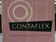 Contaflex Bedienungsanleitung von 1953 original