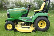 John Deere X495 Diesel Aufsitzmäher