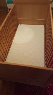 Kinder Gitterbett mit Matratze guter