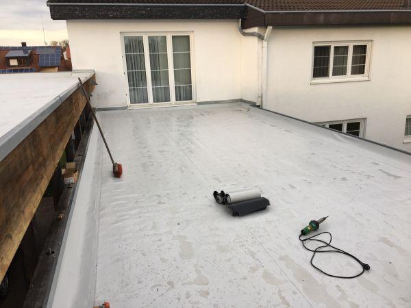 Flachdach abdichtung garage carport vordach dachdecker in