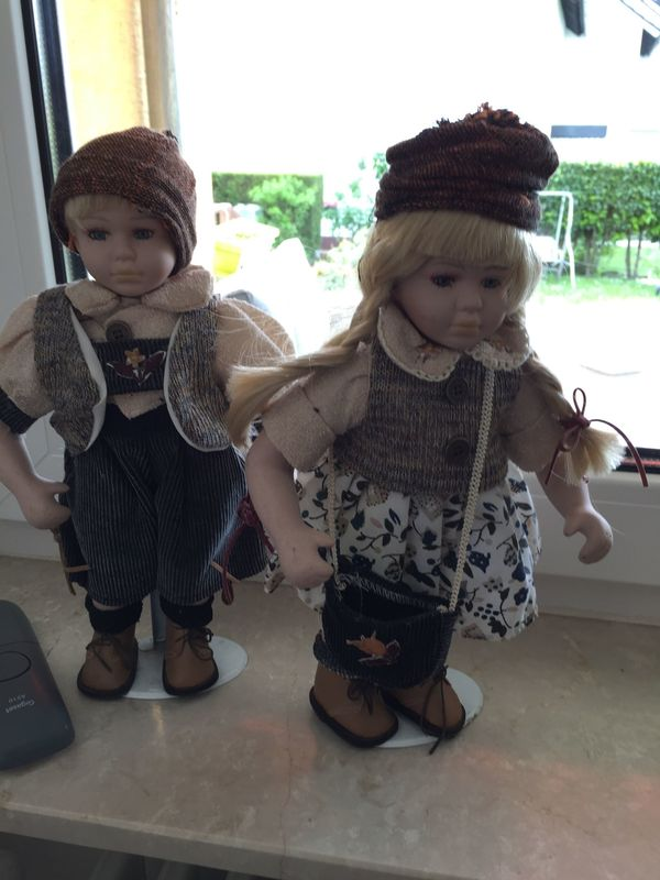 Braunen Augen 43 Cm Mit Blonden Gelockten Haaren Mädchen Puppe Ca Kleidung Convenience Goods