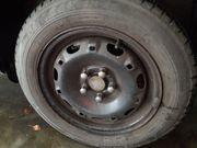 4 Skoda Stahlfelgen mit Bridgestone