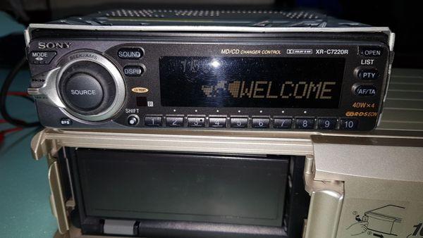 Autoradio mit CD Wechsler
