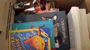 2 Flohmarktkisten - Bücher,