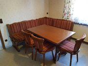 Essecke Eckbank Stühle Tisch ausziehbar