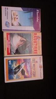 3 VHS Kassetten