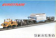 Zweiwege-Unimog-Rail-Schienentieflader Castor-H0-Fertigmodell