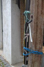 Mast für Dyas Boot gegen