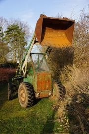 Radlader - Traktor Oldtimer Zettelmeyer 501 -