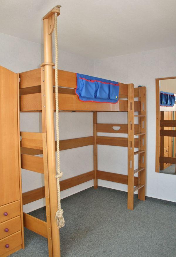 paidi hochbett gebraucht kaufen nur 3 st bis 75 g nstiger. Black Bedroom Furniture Sets. Home Design Ideas