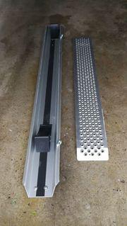 Alumotorradwanne mit Aluminium