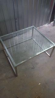 Glastisch Couchtisch 70x60cm