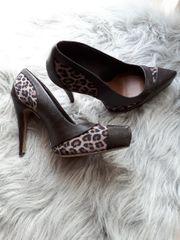 high heels leoparde in 39