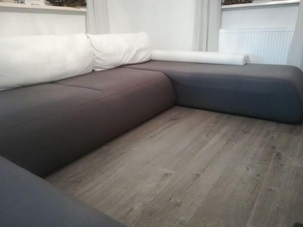 Wohnlandschaft Couch In Grau Weiss Von Innocent In Ohorn Polster