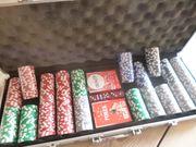 neuwertiges Pokerset
