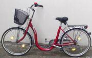 Fahrrad 3Gang Rot