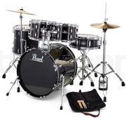 Drum Schlagzeug Pearl Roadshow schwarz