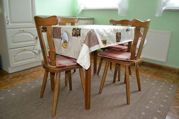 Küchentisch ausziehbar mit 4 Stühlen in Paulinenaue - Küchenmöbel ...