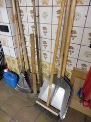 Schneeschaufeln Gartengeräte etc