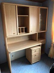 Kinder Jugendzimmer Bett Kleiderschrank Schreibtisch