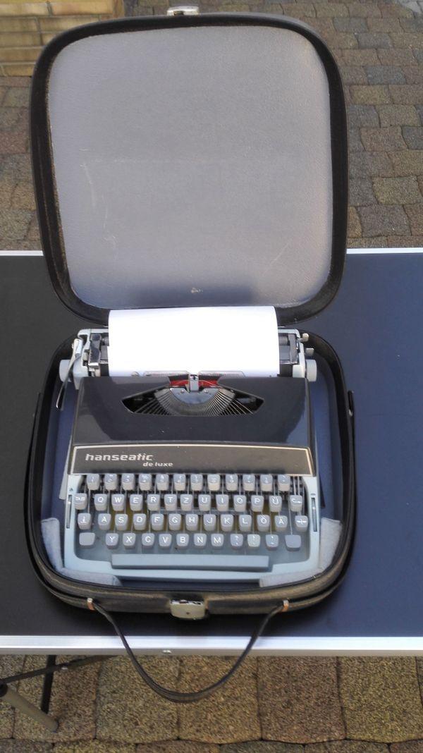 gebrauchte Schreibmaschinen