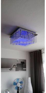 Lampe inklusiver blauer Leuchtkraft wie