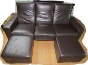 Ledercouch 3-Sitzer