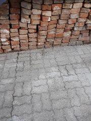 Alte Backsteine Mauersteine selten