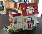 Playmobil großes Einfamilienhaus mit elektrischer