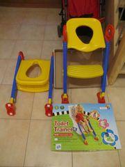 Kinder-Toiletten-Sitz - Toilet Trainer mit ausziehbaren