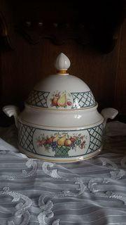 Dekorative Suppenterrinne von Villeroy und