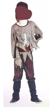 Fasching Kostüm Pirat Zombie-Pirat