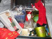 Schmidt-Festagstruhe mit Weihnachtsdeko z B