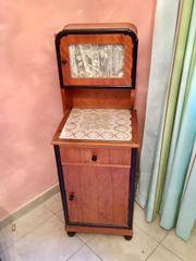 Nachttischschräncken Kirschbaum antik -