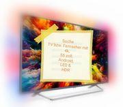 Suche TV Fernseher 4k 55zoll