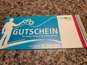 DYNAMIKUM Gutschein Plus - Karte