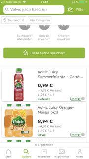leere Volvic Juice Flaschen gesucht